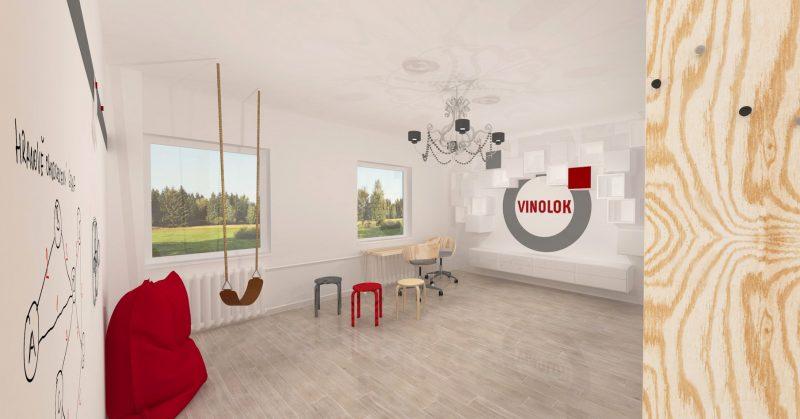 Jablonec nad Nisou, kreativní místnost Vinolok