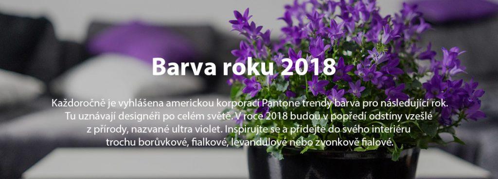 barva roku 2018