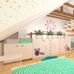 Beroun, dětský pokoj