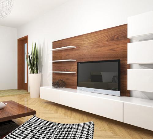 Liberec - Perštýn, obývací pokoj