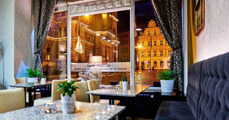 Liberec, café bar Praha, Josef Trakal