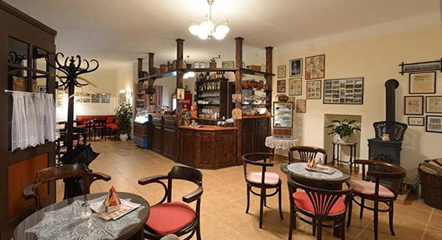Kavárna u Ježka Kryštofovo údolí, josef Traka