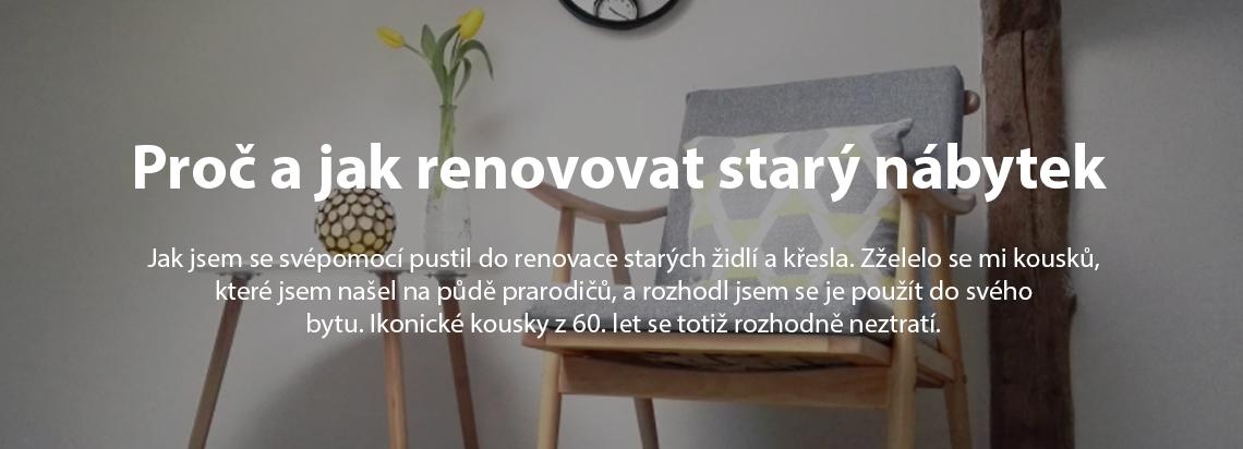Proč a jak renovovat starý nábytek, josef trakal