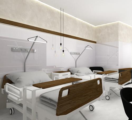 Liberec,nadstandardní pokoj v nemocnici, josef trakal