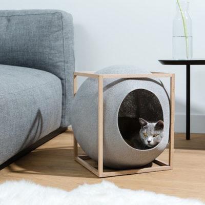 pelíšky pro kočky, které mají styl, joseftrakal