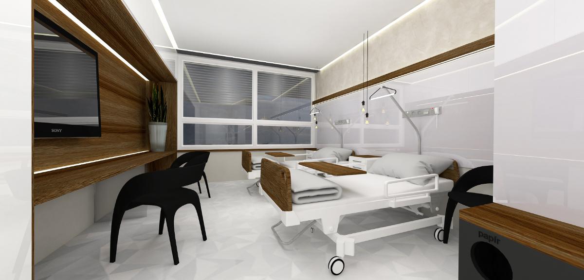 Liberec,nový prostor nemocnice, josef trakal