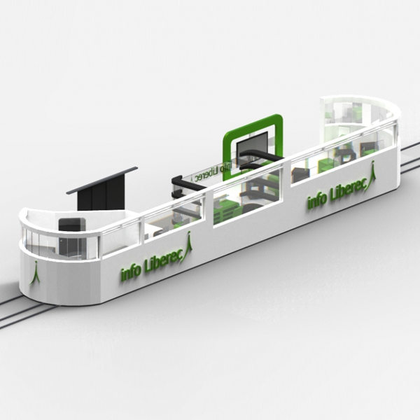 Infocentrum v tramvaji? Proč ne, říká student architektury, Josef Trakal
