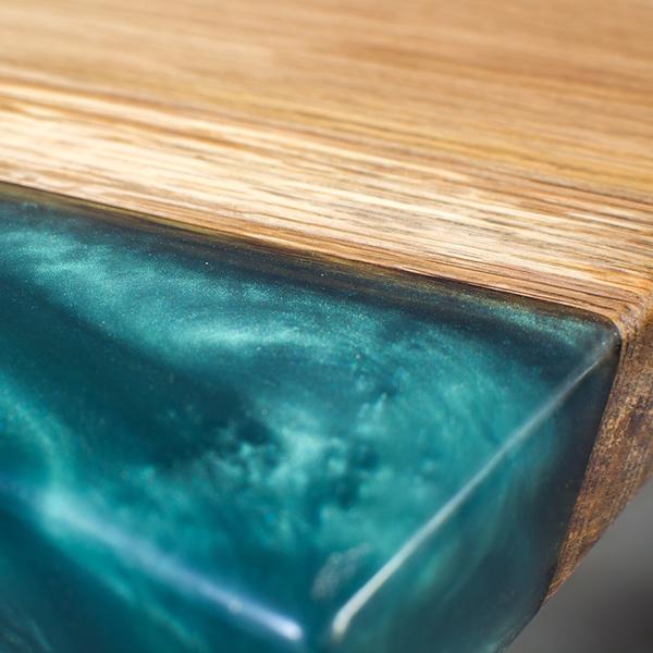 stoly z epoxidové pryskyřice, wooden land, josef trakal