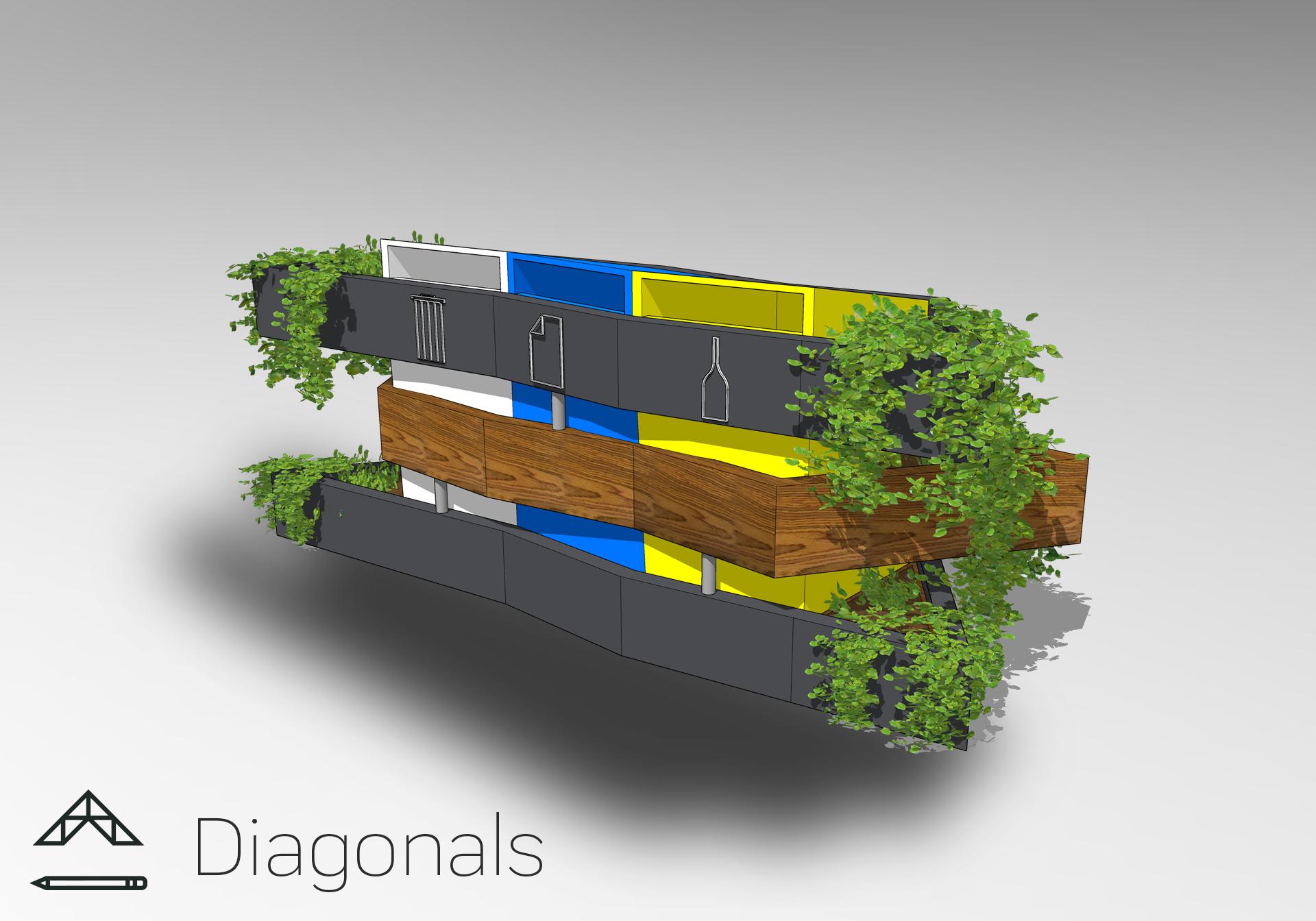 Diagonals - Lukáš Kučera